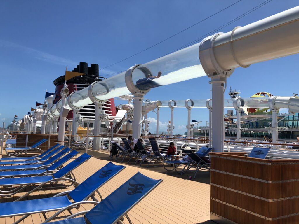 Disney Cruise Line AquaDuck water slide