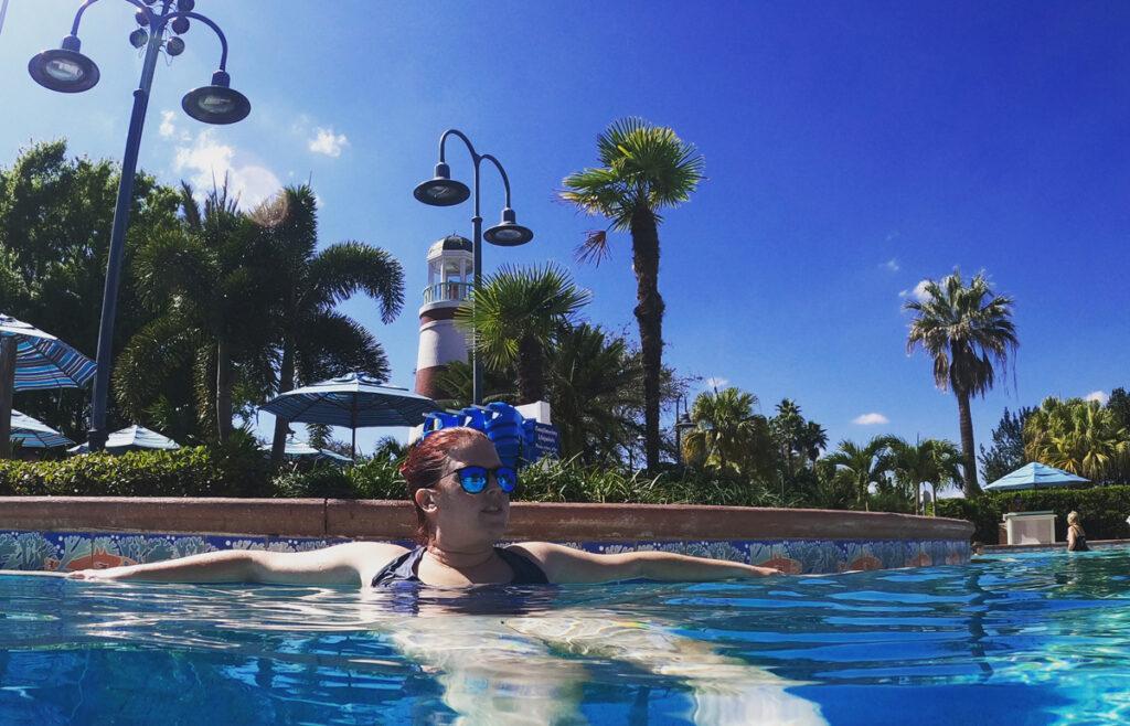 Disney's Old Key West Resort pool