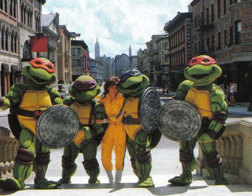 Teenage Mutant Ninja Turtles in Disney MGM Studios