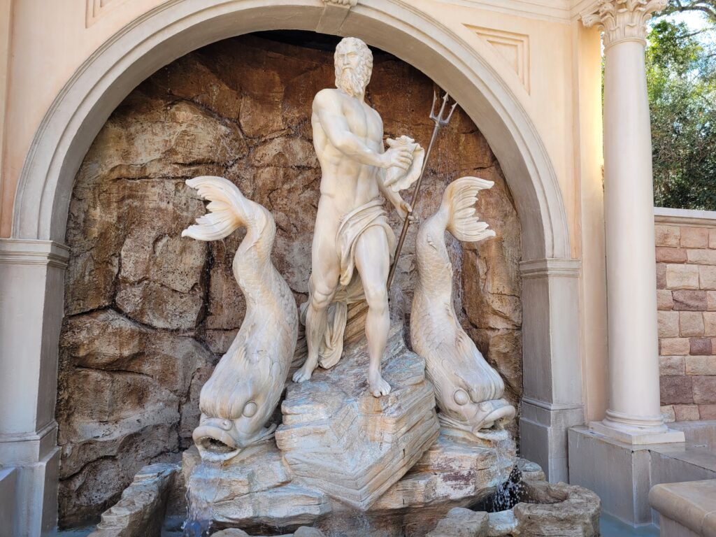 Fontana Di Neptune at Italy Pavilion in Epcot