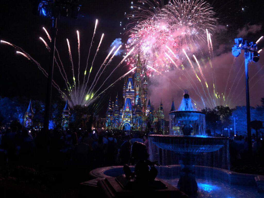 Fireworks shows return to Disney's Magic Kingdom in July 2021