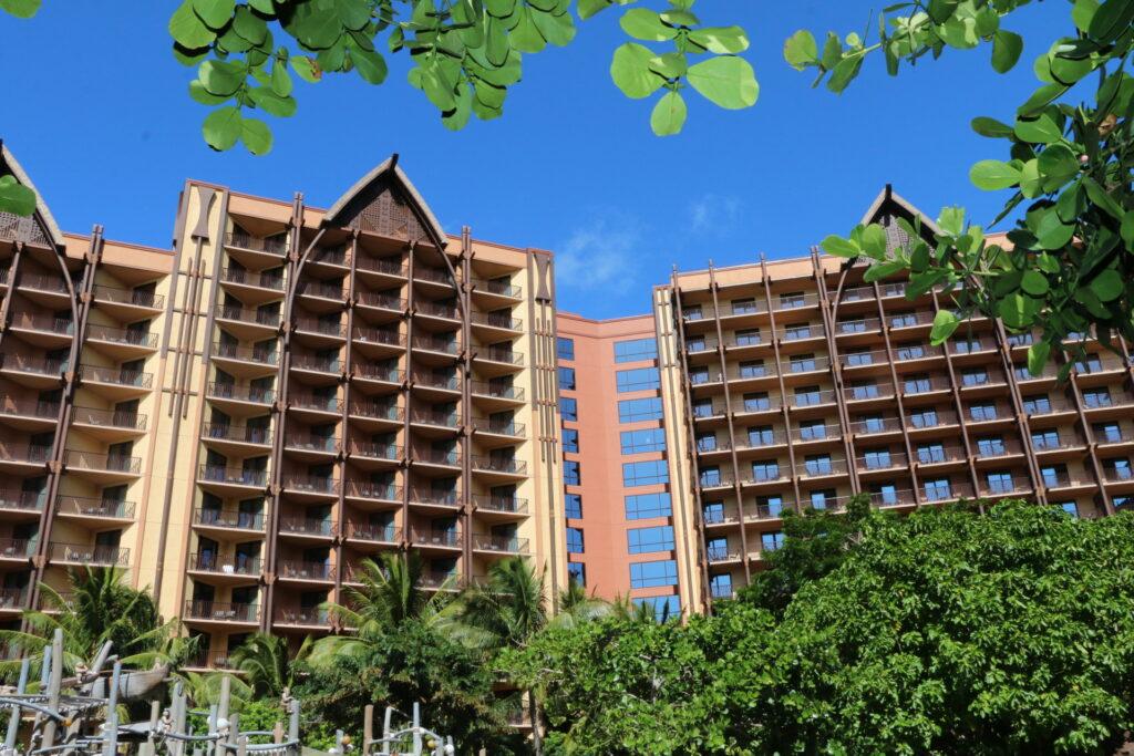 DVC Aulani Resort exterior photo
