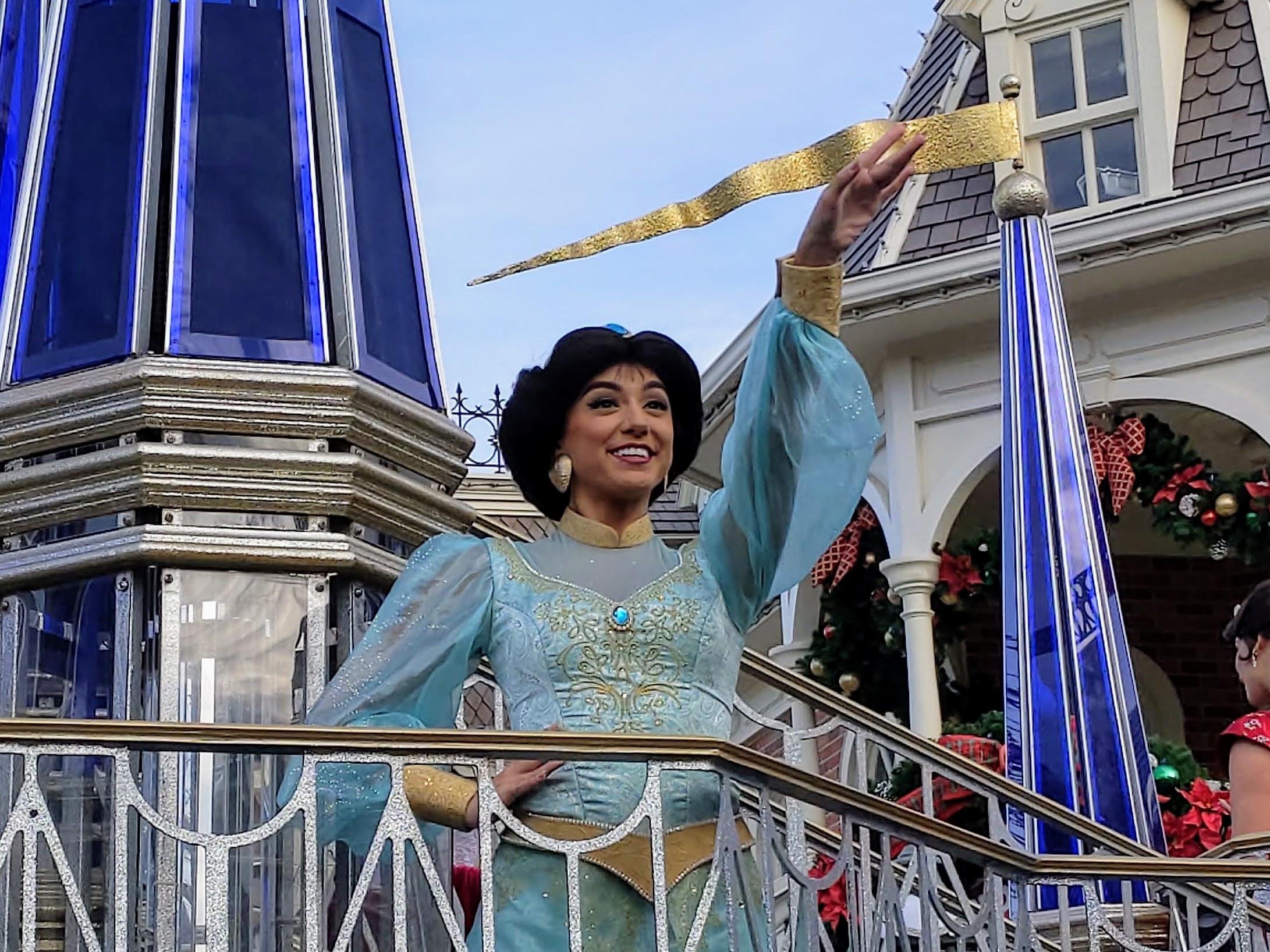 Jasmin at Walt Disney World