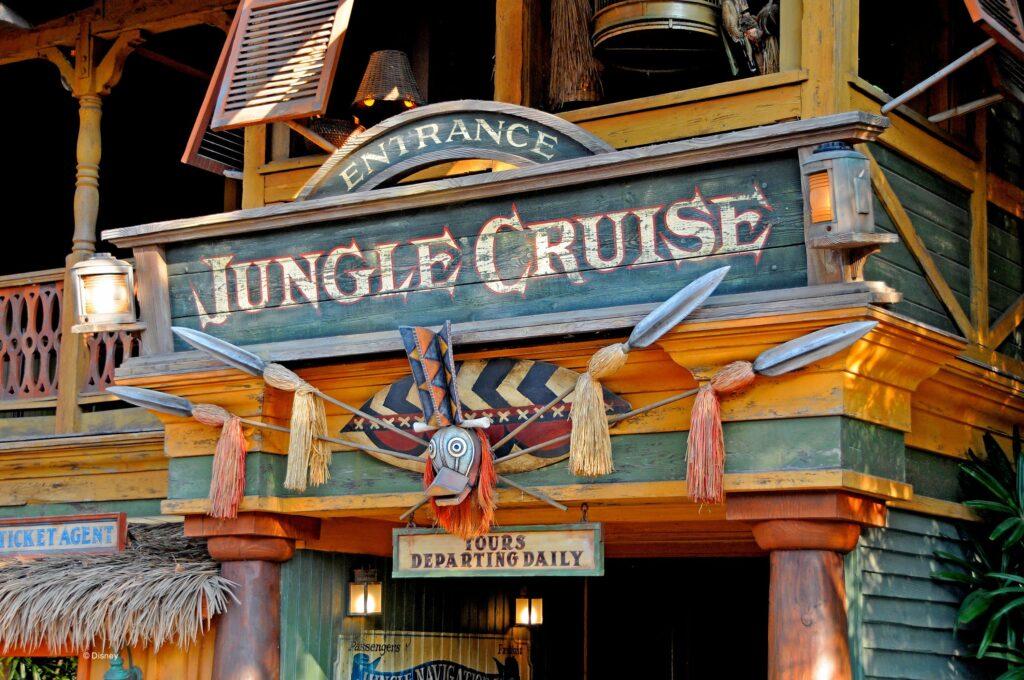 Jungle Cruise Entrance Sign - Disneyland