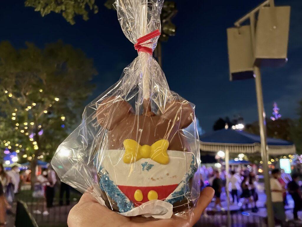 Disneyland's 66th Anniversary Celebration snacks