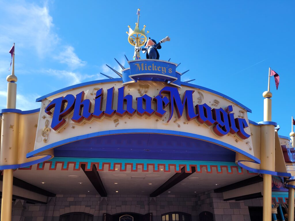 Mickey's Philharmagic Sign