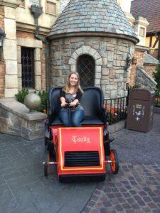 Mr. Toad's Wild Ride, Disneyland
