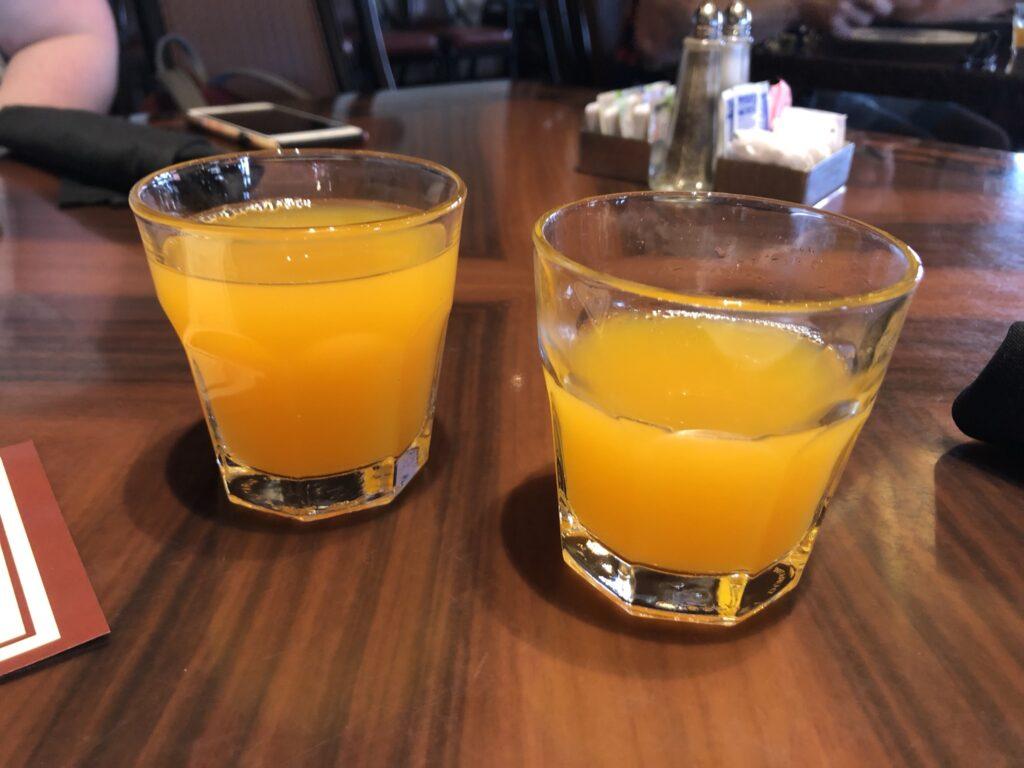 POG Juice at 'Ohana Breakfast at Polynesian Resort Disney