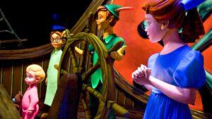 Peter Pan's Flight, Disneyland