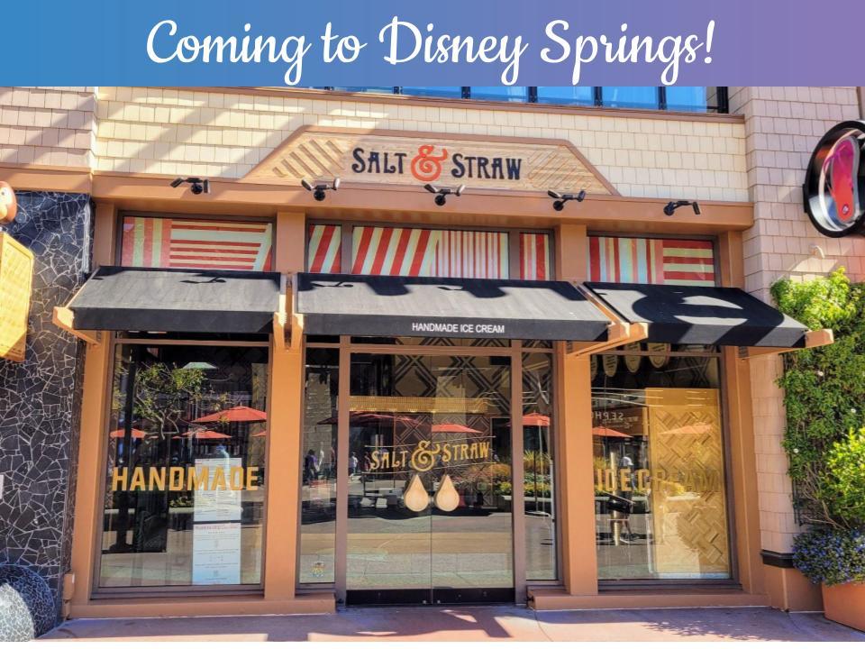 Salt & Straw Handmade Ice Cream Coming to Disney Springs