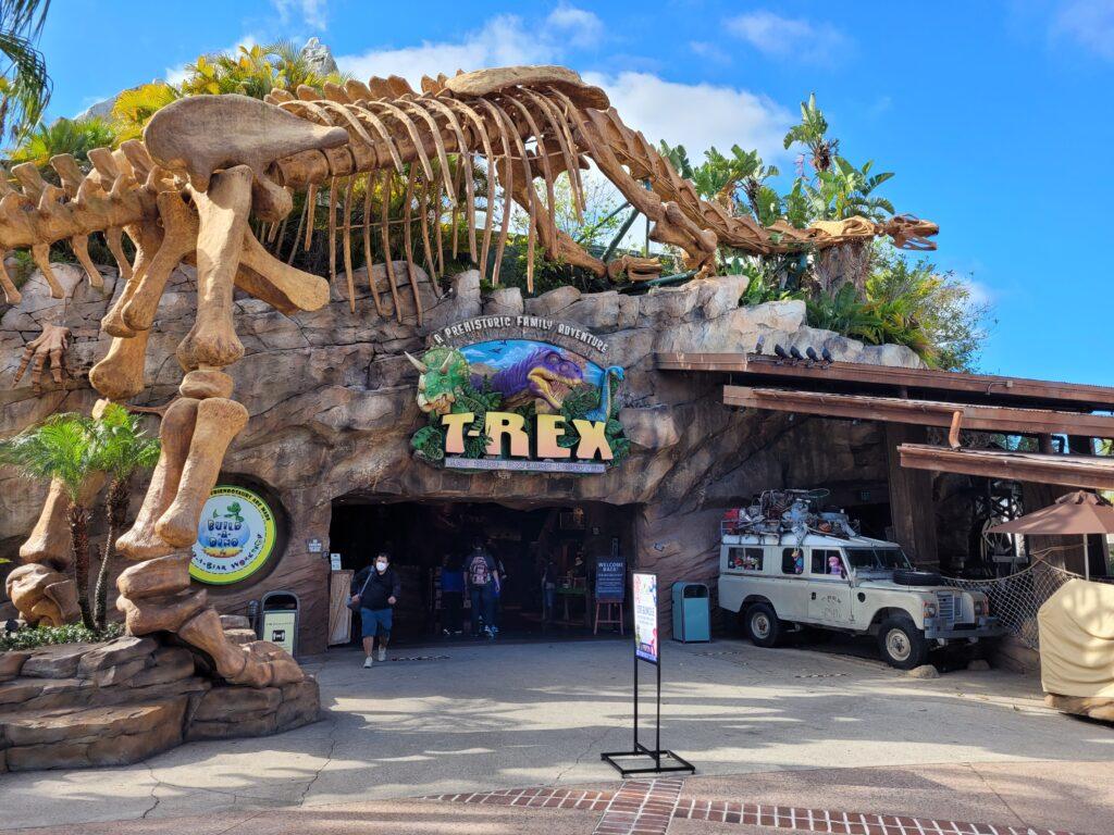 T-REX Entrance at Disney Springs