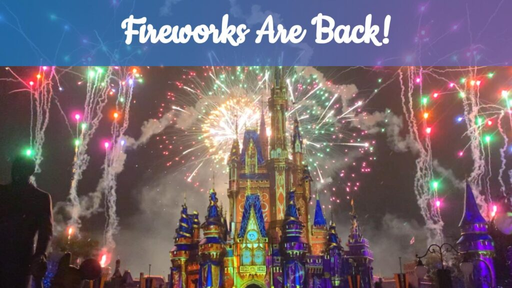 Watch The Happily Ever After Fireworks Show at Magic Kingdom