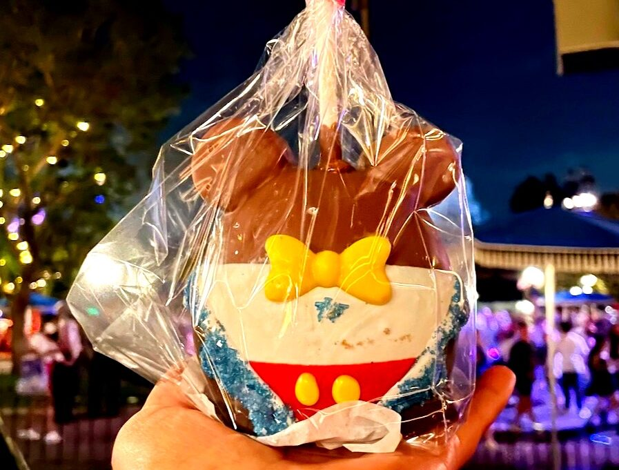 Limited Edition Candle Apple Disneyland
