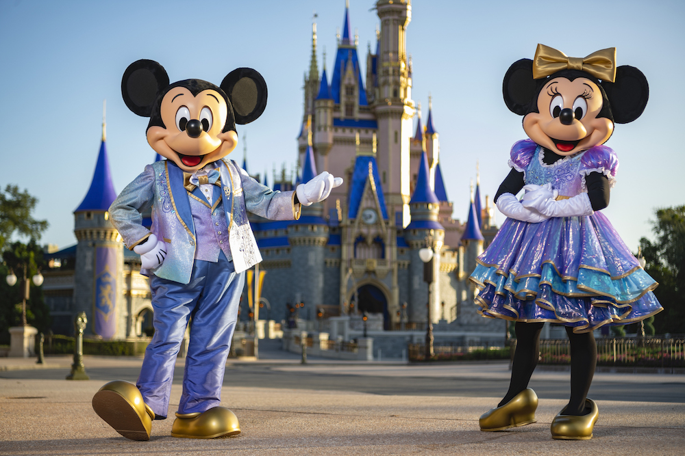 Mickey & Minnie 50th Anniversary Outfits