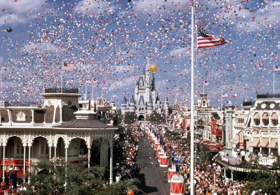 Magic Kingdom opening day 1971