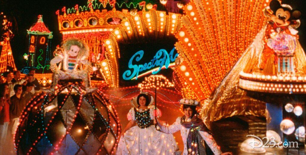 Spectromagic nighttime parade, Disney World