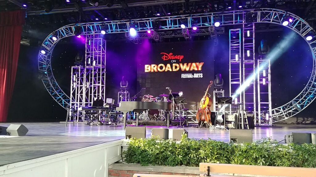 Disney on Broadway at EPCOT festival