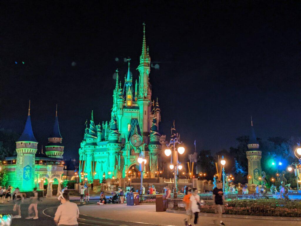 Magic Kingdom Castle Disney Boo Bash 2021