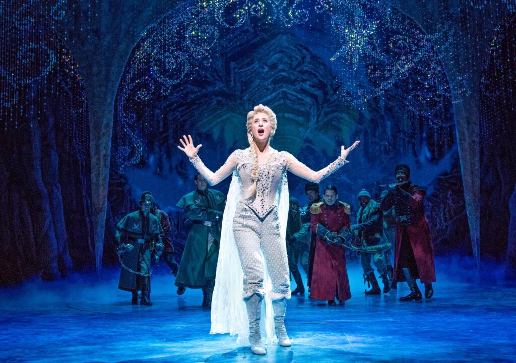 Frozen Disney stage show