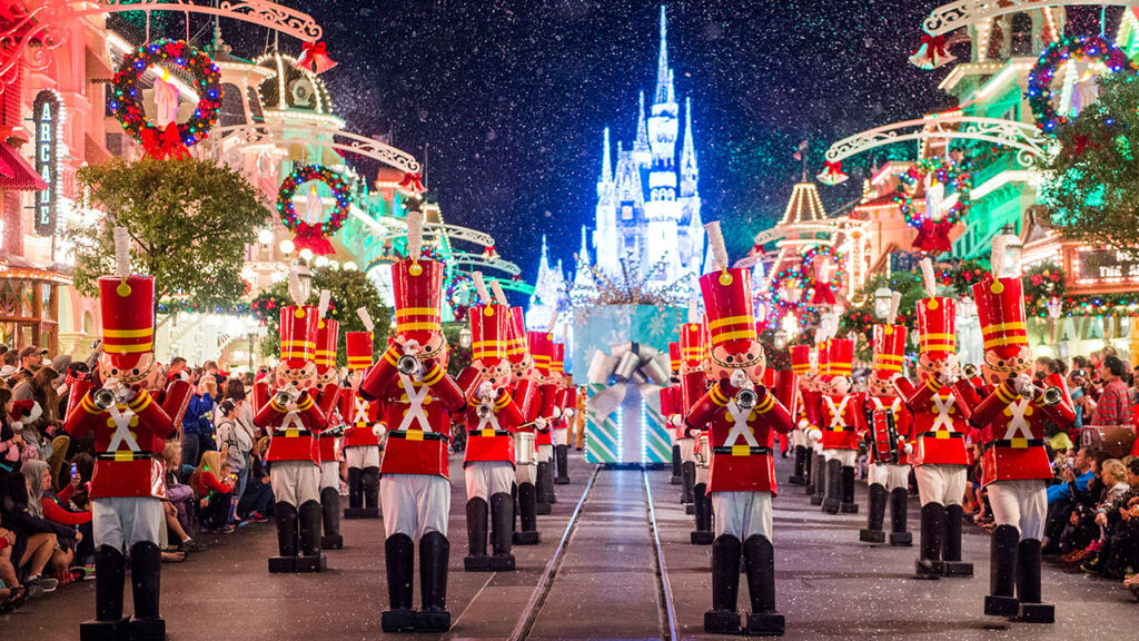 Toy Soldiers in Magic Kingdom's Holiday Parade