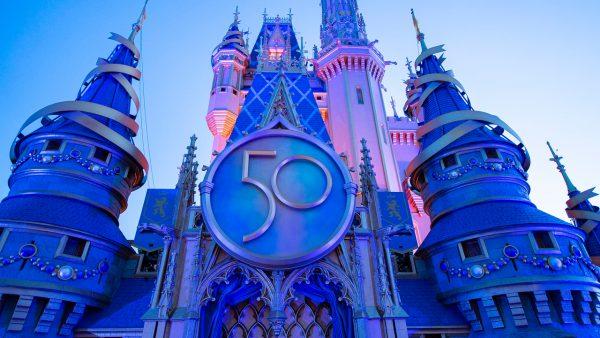 50th Anniversary Cinderellas Castle