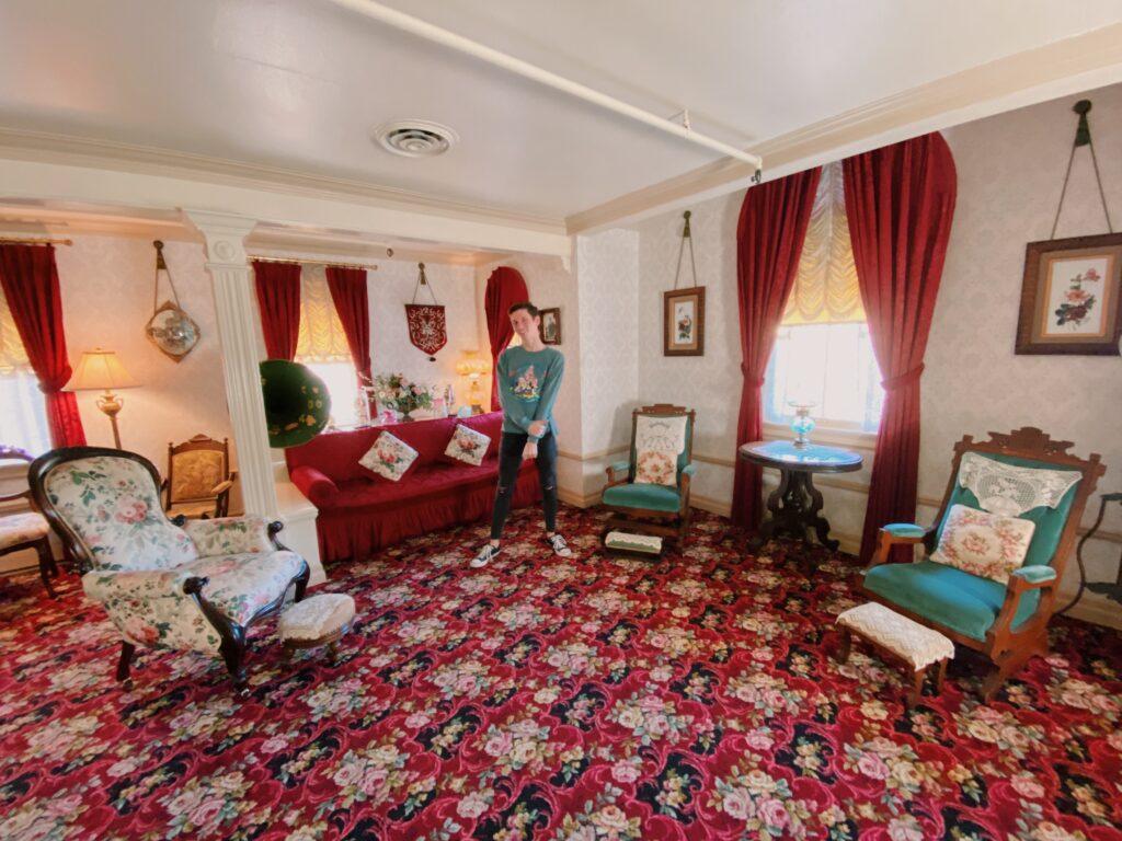 Walt Disney's Apartment, Disneyland