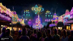 Disney new nighttime show Disney Enchantment