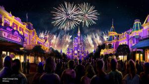 Disney Enchantment fireworks show