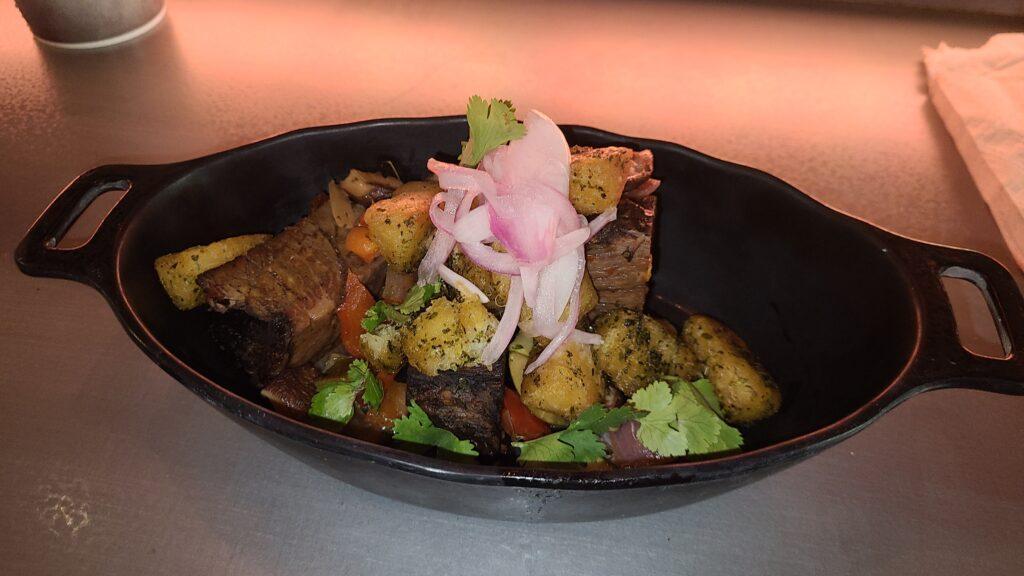 Batuuan Beef with Crispy Topato Stir-Fry at Docking Bay 7 - Disney
