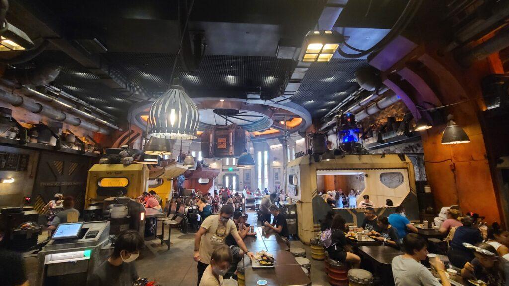 Dining Room at Docking Bay 7 - Disney World