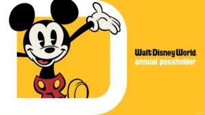 New Disney Annual Passholder Magnet