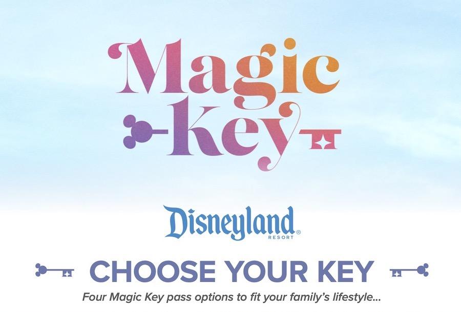 Magic Key Program Disneyland Annual Pass