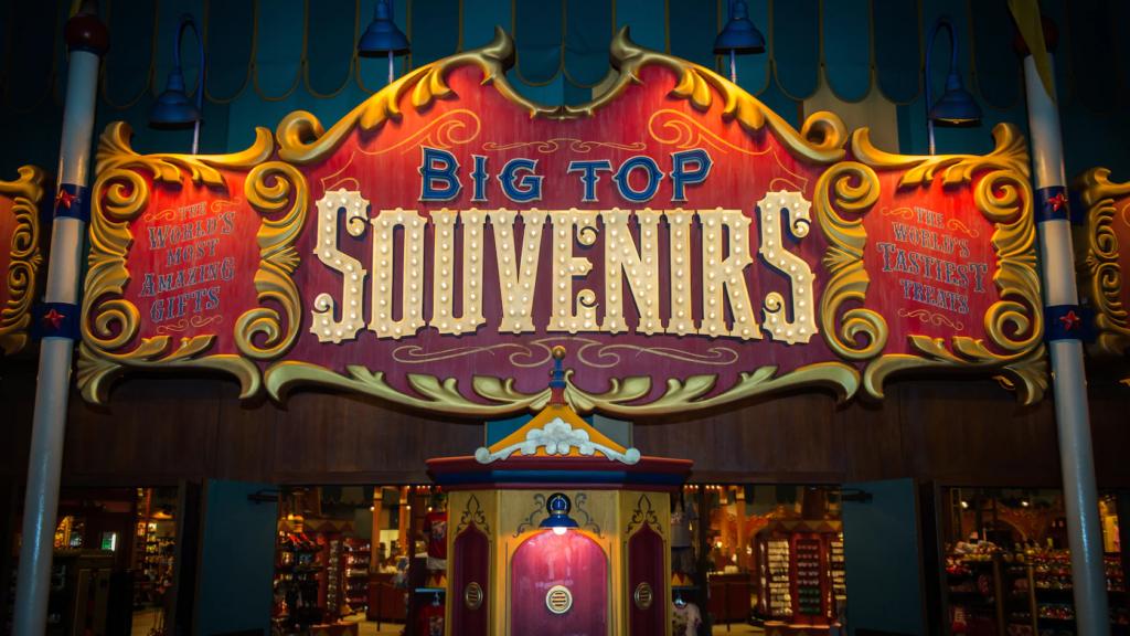 Big Top Souvenirs Reopens - Disney Magic Kingdom