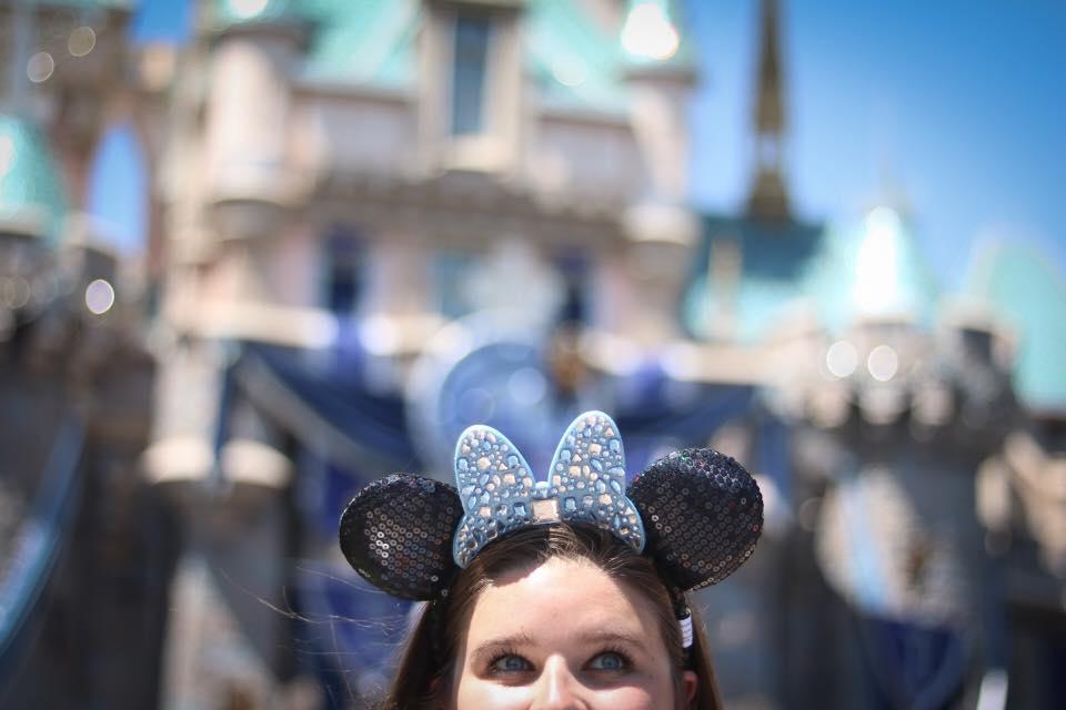 Diamond Mickey Ears for Disneyland's 60th birthday