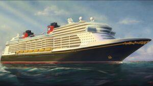 Disney Wish's maiden voyage is in June 2022