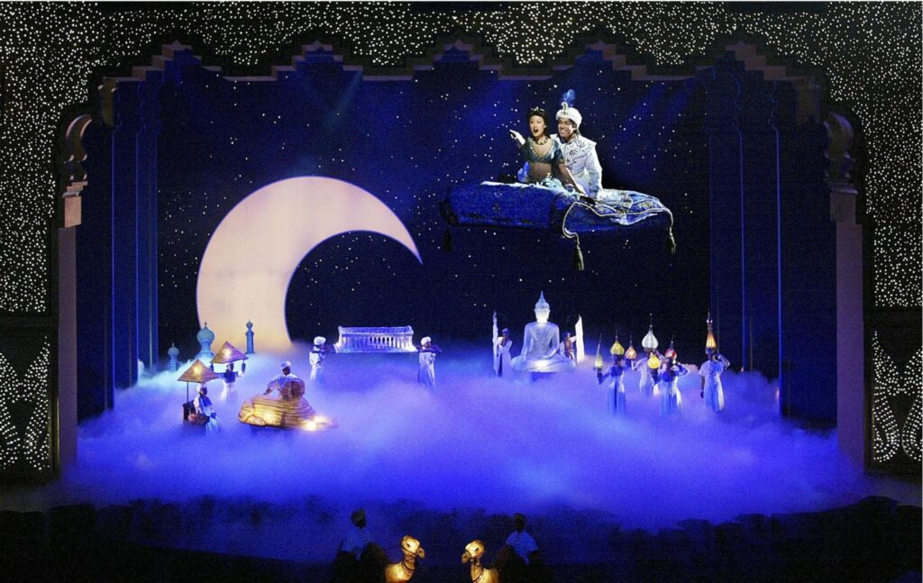 Disney Aladdin Stage Show at Disney's California Adventure