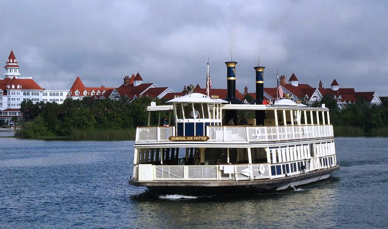 Disney Ferry Boat to Magic Kingdom