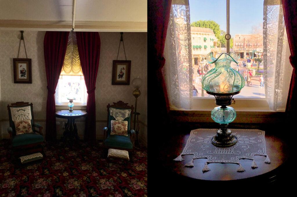 Inside Walt Disney's Apartment, Disneyland