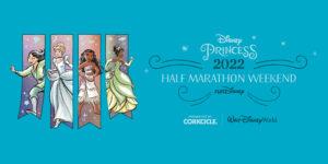 Disney Princess marathon bibs available August 24, 2021