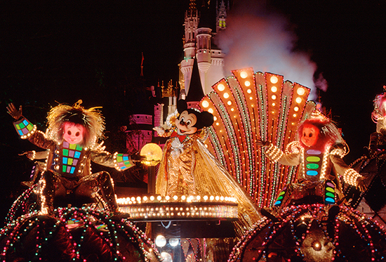 Spectromagic parade at Magic Kingdom