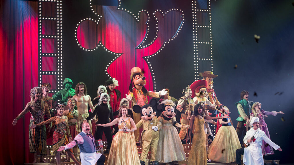 Disney Cruise line offers Broadway style entertainment