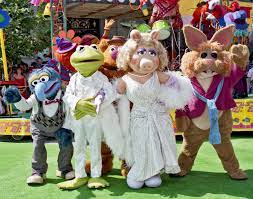 The Muppets out for a meet and greet