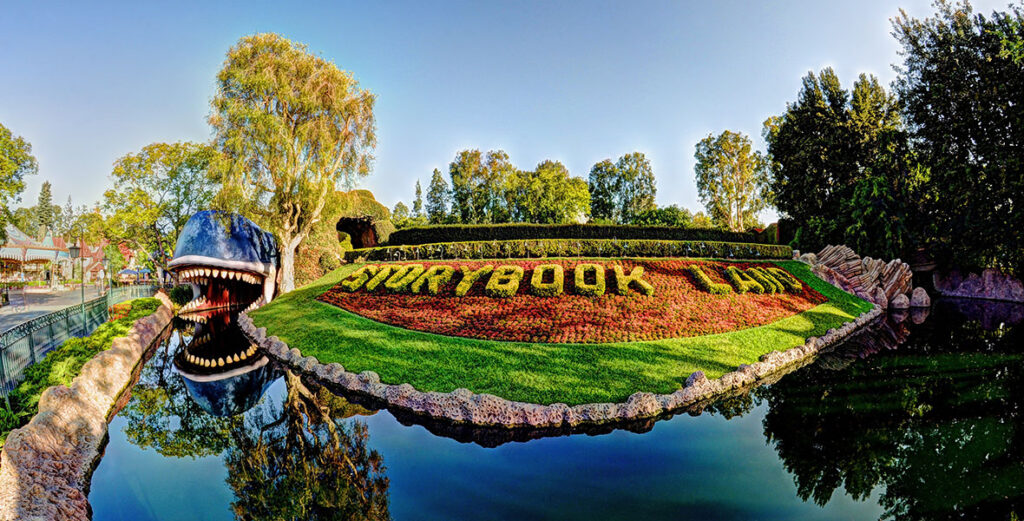 Storybook Land Canal Boats in Disneyland, CA