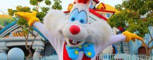Roger Rabbit Visiting ToonTown