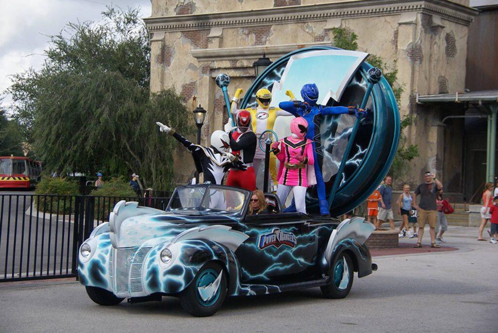 Power Rangers Parade