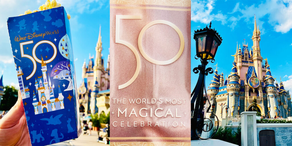 Disney World 50th Anniversary Discounts with DVC Shop