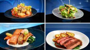 Menu Items for Space 220 Restaurant
