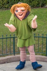 Quasimodo in the Disney Parks