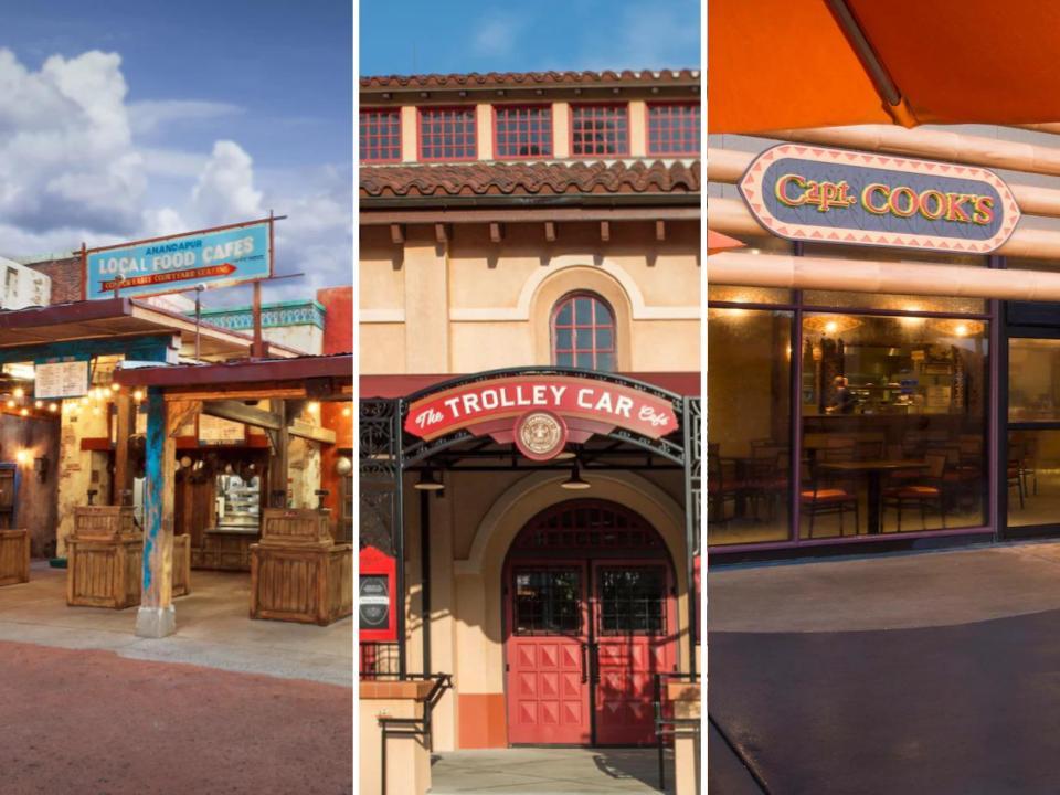 Best Quick Service Breakfast Spots In Disney World