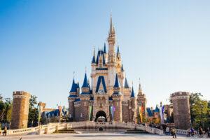Cinderella Castle at Tokyo Disney